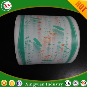 pe film material for manufacturing baby diaper
